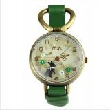 Wholesale - MINI Quartze Round Dial Waterproof Watch Cartoon Creative PVC Band Watch mn926