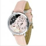 Wholesale - MINI Quartze Round Dial Waterproof Watch Cartoon Creative PVC Band Watch mn893