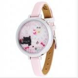 Wholesale - MINI Quartze Round Dial Waterproof Watch Cartoon Creative PVC Band Watch mn967