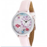 Wholesale - MINI Quartze Round Dial Waterproof Watch Cartoon Creative PVC Band Watch mn966A