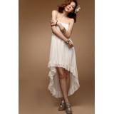 Wholesale - Bohemian Sleeveless Chiffon Off-the-shoulder Empire Soild Color Party Dress