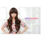 Wholesale - Women's Wig Perma-Long Full Bangs Oval/Round/Square Face Prefered (YS8007)