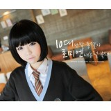 Wholesale - Women's Wig Short Full Bangs BobHaircut Round Face Prefered