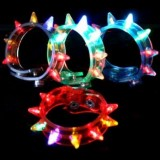 Wholesale - LED Spike Bracelets  Rave/Warehouse Party/EDM Shows