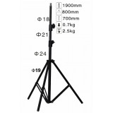 Wholesale - NICE Tripod for Flashlight/Diffuser Lightweight Aluminium Alloy (LS-190)