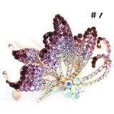 Wholesale - Crystal Butterfly Hairpin with SWAROVSKI Elements (9514)