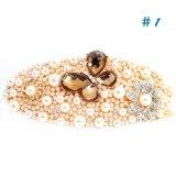Wholesale - Crystal Butterfly/Pearl Style Hairclip with SWAROVSKI Elements (9522)