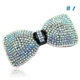 Wholesale - Crystal Bow Tie Style Hairclip with SWAROVSKI Elements (9461)