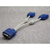 Wholesale - VGA 1 source to 2 displays Splitter cable