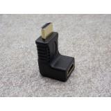 Wholesale - HDMI Male to HDMI Female 270 Degree Adapter