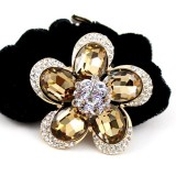 Wholesale - Crystal Blossoms Style Hairband with SWAROVSKI Elements (9337)