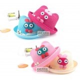 Wholesale - Eratos Cute Rabbit Pattern Strawhat with Curling (CM29)