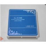 Wholesale - 5 in 1 USB 2.0 Memory Card Reader Multi-Function Ultrathin Design
