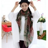 Wholesale - Leopard Print Women's Wrapping Scarf