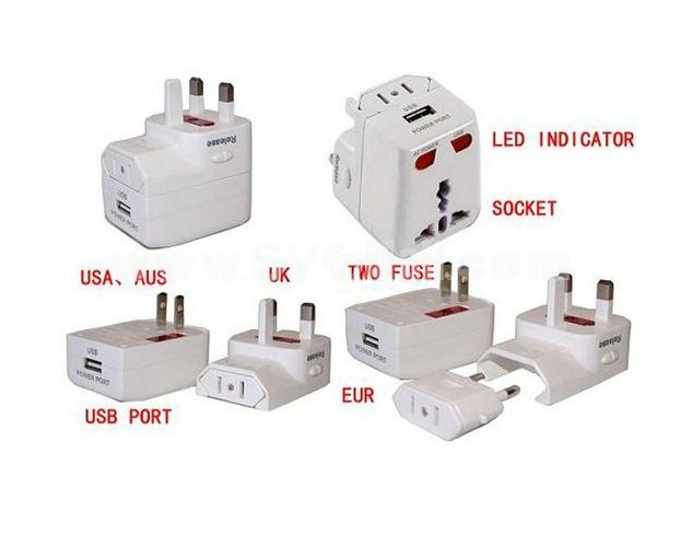 Multifunction USB Hub Convert Charger
