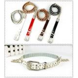 Wholesale - Eratos Crystal Women's Belt Narrow Rivets (Y02)