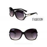 Wholesale - Sunglasses for Women Oversized Frame Fashion Retro Black (YJ615)
