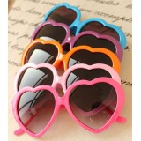 Wholesale - Sunglasses for Women Love-Heart Design Candy Color (YJ619)