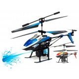 Wholesale - 28cm Remote Control (RC) Gyroscope Helicopter with Water Canons