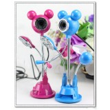 Wholesale - 4 in 1 USB Digital Camera Large Mickey Mouse Shaped For Laptop Desktop
