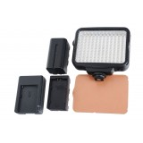 Wholesale - LED5009 video camcorder lamp for Sony Panasonic DV Camcorder LED light with battery and charger