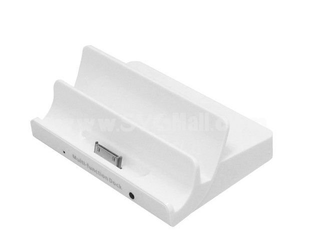 Multifunction Docking Station Support HDMI for iPod/iPad/iPhone