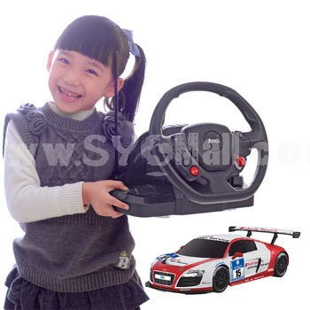 RC Remote Audi R8 Model with Steering Wheel