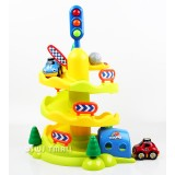 Wholesale - Children Educational Toy Play House Acousto-Optic Roller Coaster