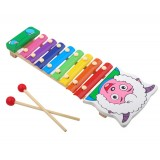 Wholesale - Wooden Goat Serinette Xylophone Toy