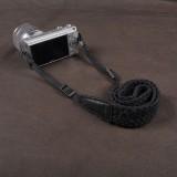 Wholesale - Shoulder Strap for SLR Camera Universal Type 100%Cotton Woven Black (CAM8750)