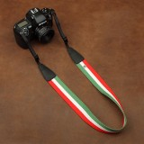 Wholesale - Shoulder Strap for SLR Camera Universal Type Tricolors Stripes Style (CAM8276)