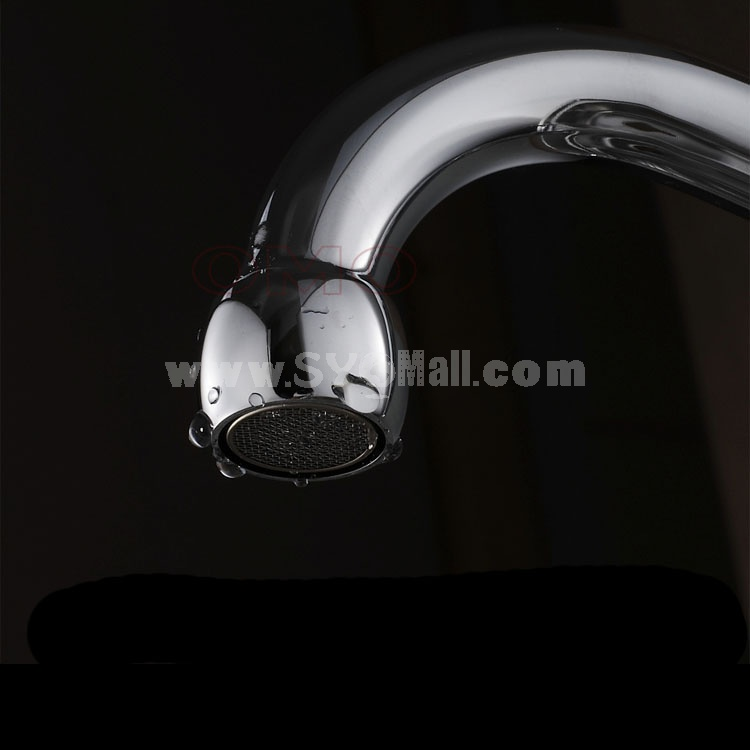 OMO All Brass Single Handle Rotatable Pull Out Kitchen Sink Faucet Cold Water B-95002CP