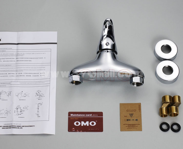OMO All Brass Single Handle Tub Faucet No Water Outlet B-88008CP