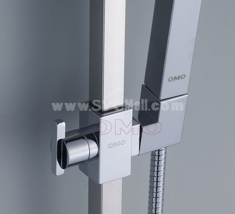 OMO Hand Shower Kit with Support and Hose