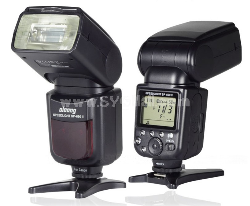SP-690II Flash Speedlite Speedlight for Canon DSLR