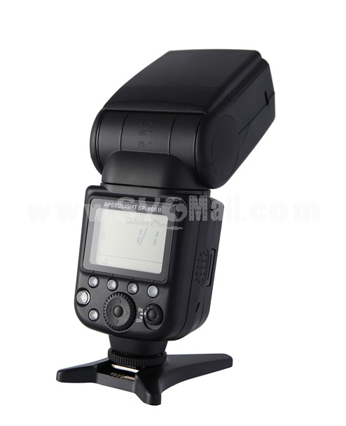 SP-660II Flash Speedlite Speedlight for Canon DSLR