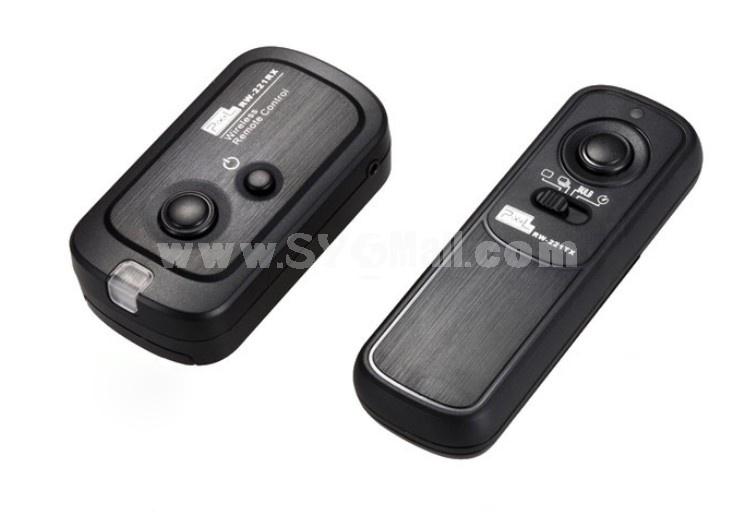 PIXEL RW-221 DC2 Codeless Shutter Release Controller for Nikon D90 D600 D7000 D3200 D5100