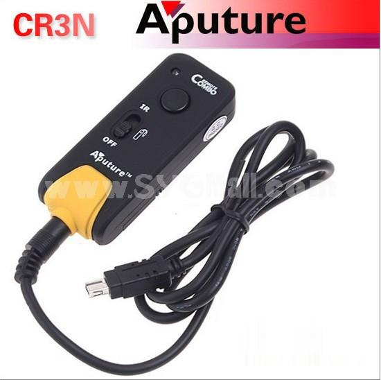 Aputure CR3N Remote Controller + Shutter Release Controller for Nikon D7100 D3200 D7000 D90