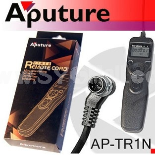 Aputure AP-TR1N Shutter Release Controller for Nikon D800 D700 D300 D200 D100