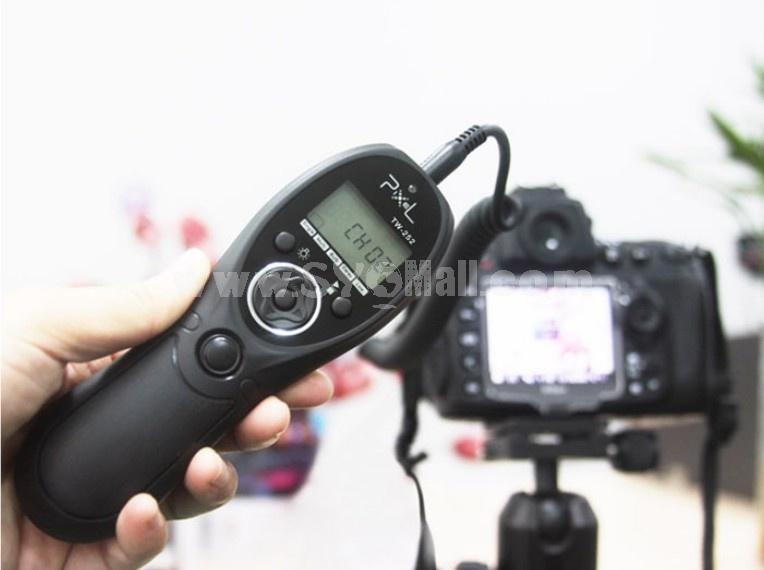 PIXEL TC-252 E3 Code Timer Shutter Release Controller for Canon 60D 650D 600D 550D 500D 450D