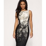 Wholesale - Karen Millen Snake Skin Print Pencil Dress DJ077