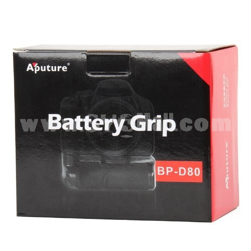 Aputure Battery Grip For Nikon D80 D90 DSLR camera (BP-D80)