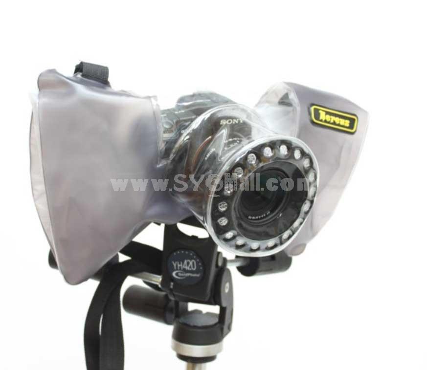 Nereus Camera Rain Coat Protector DSLR-RP331 For Canon Nikon Pentax Olympus SONY (D)SLR