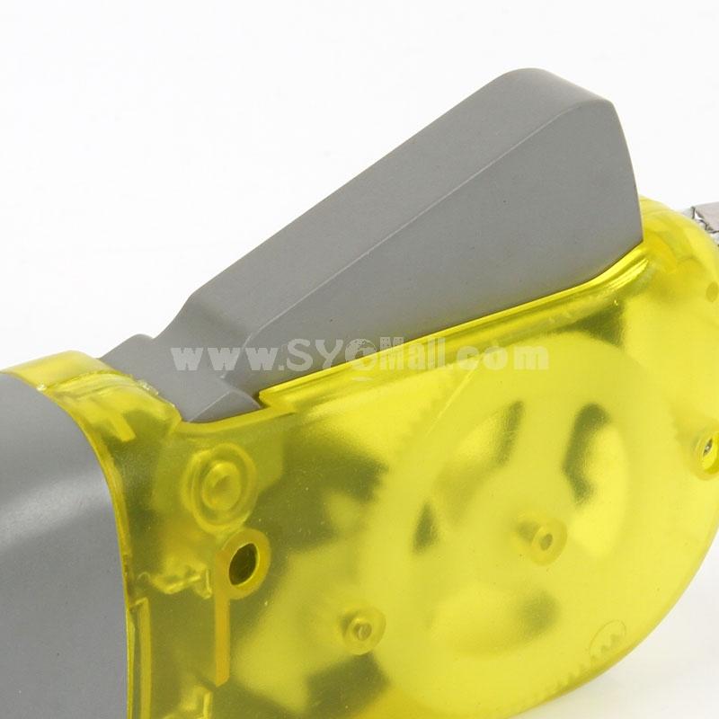 Hand Pressing Flashlight Eco-Friendly Self Generating Flashlight (E8522)