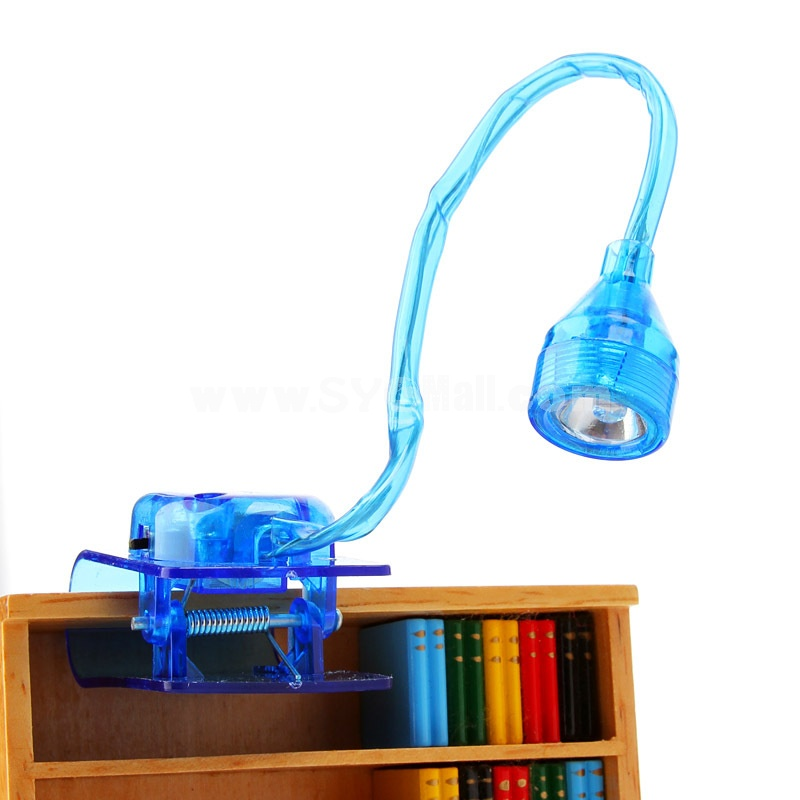 Clip-Pattern/Small Clip E-Book Reading Lamp Portable (K0395)