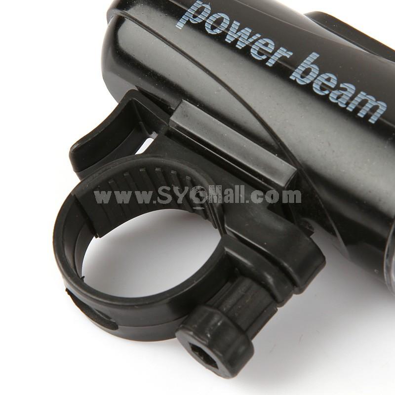 Multifunctional Bicycle Headlight 5×LED Flashlight Battery (E7873)