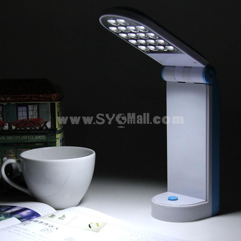 Portable Folding-Type Small Table Lamp 18×LED (K0866)