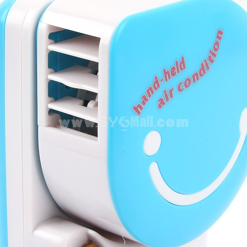 Handheld Water Spray Silent Air Conditioning Handy Cooler Mini Fan USB (E8607)