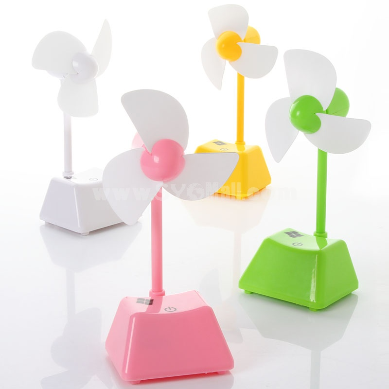 Mini Fan High-Quality Exquisite Colorful Touch Button(E9949)