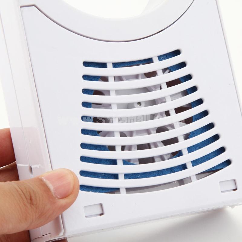 Mini Bladeless Fan Air Conditioning Handheld USB/Battery (E9723)